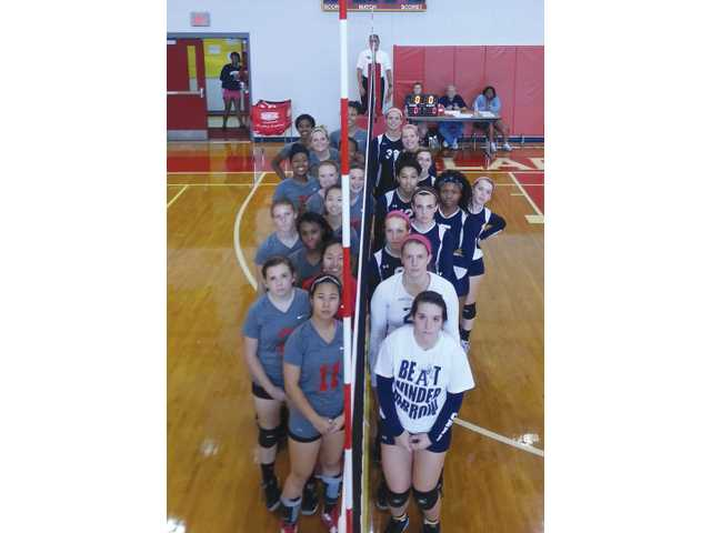 Volleycats three-peat as 2014 Area 8-AAAAA champions