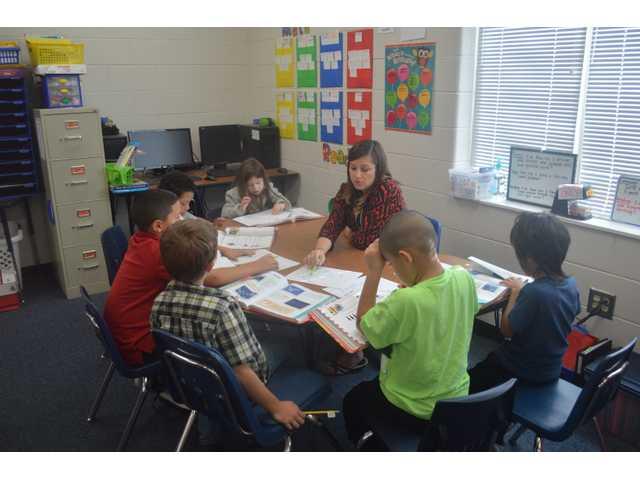 TOTY Meier focused on her students