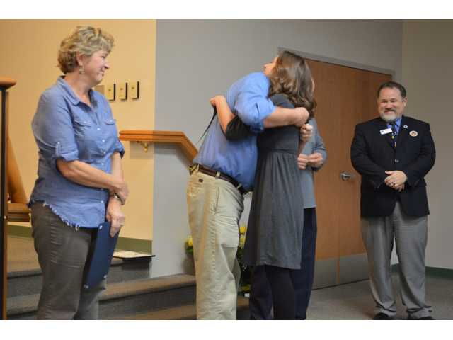 BCES honors staff, students who helped save teacher