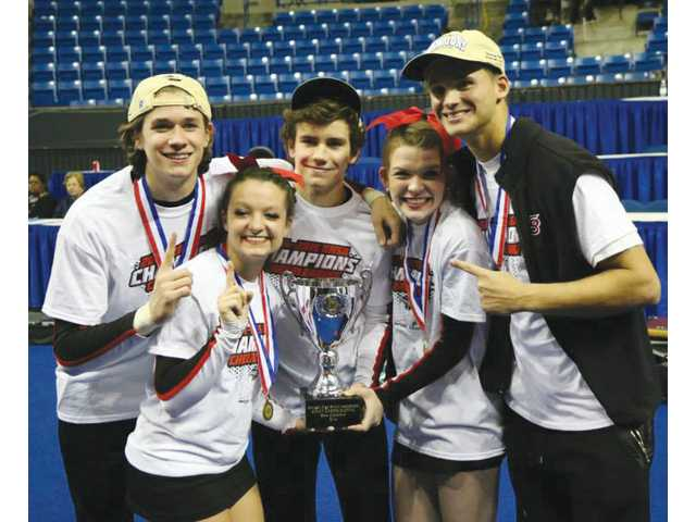 Cheer Doggs win sixth state title