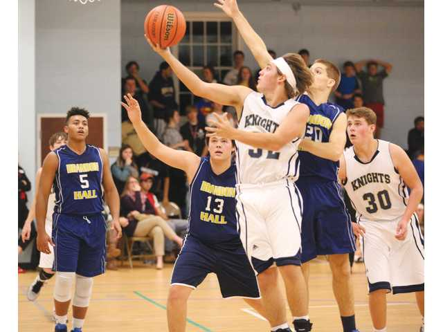 Knights fly in indicative home hoops victory