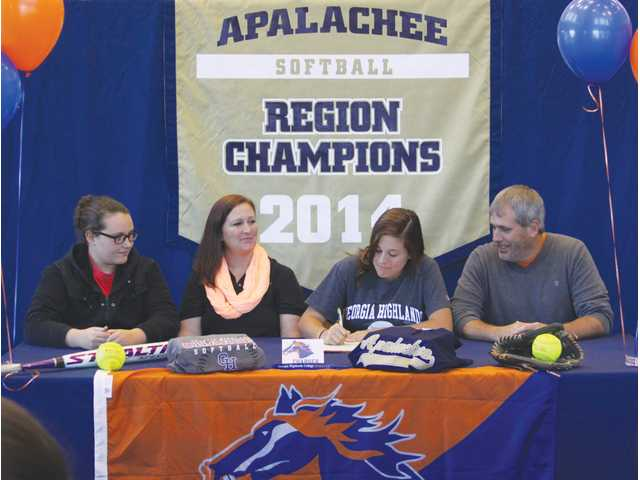 Senior pitcher Meade signs college letter