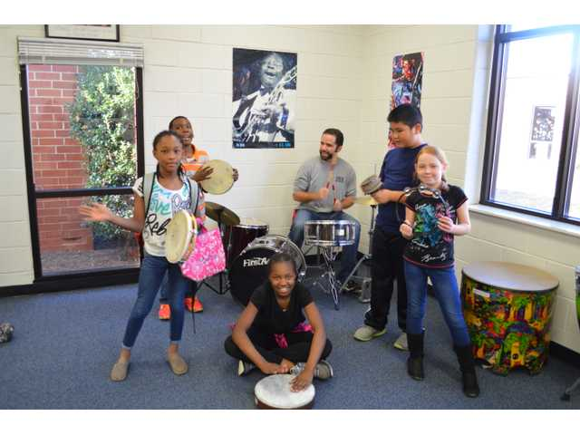 Statham TOTY brings love of music to students