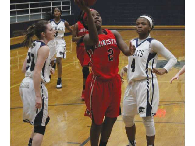 Lady Cats fall hard after close opening