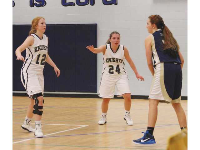Lady Knights show improved effort in defeat