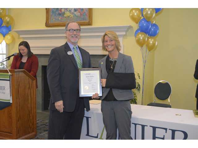 Winder student named Lanier Tech's best