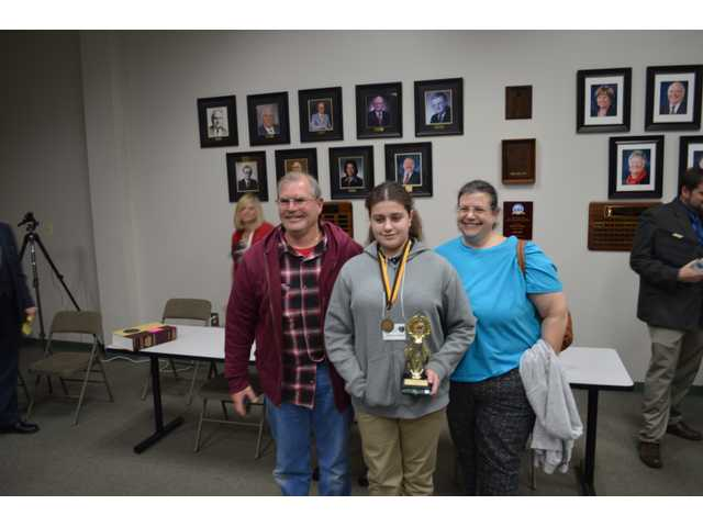 Bear Creek student wins district spelling bee