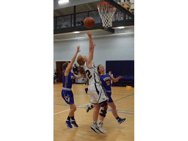 Lady Knights go out on top in Senior Night blowout win