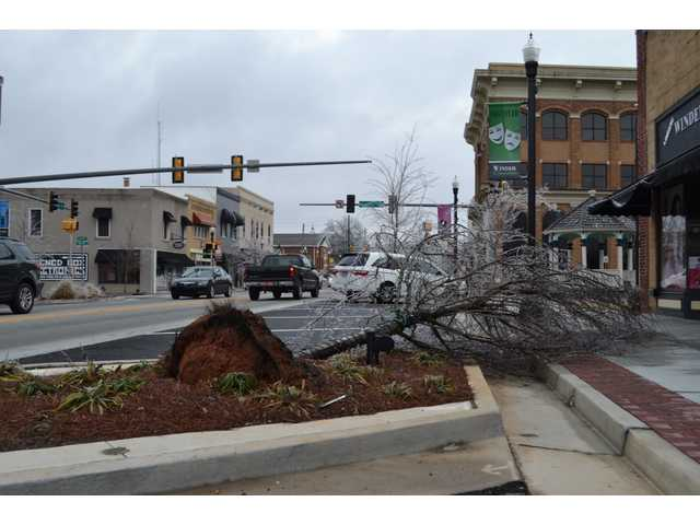 Icy weather led to power outages, closures in Barrow
