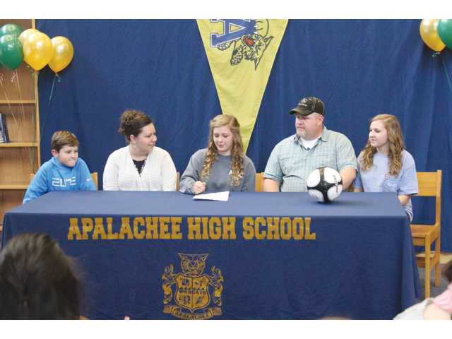 Gilmore to play soccer at ABAC
