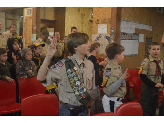 Winder Scout Troop 700 puts activities on display