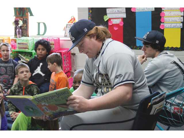 Athletes trade gyms for books