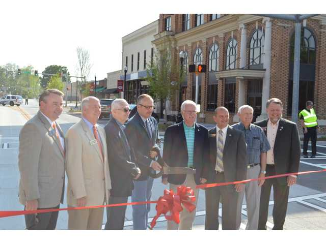 Winder receives state engineering award for its streetscape project