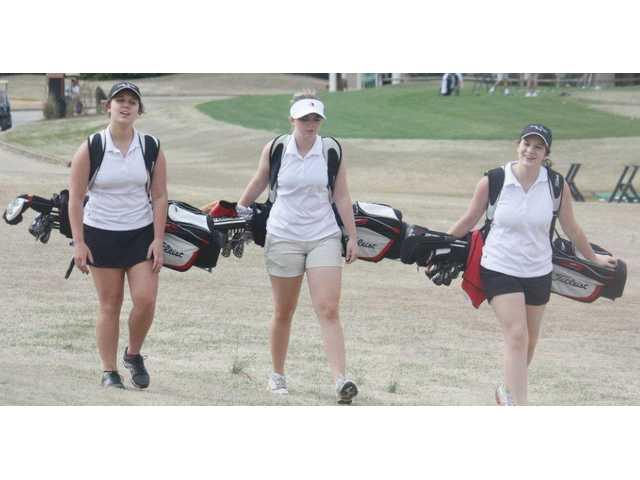 Lady Doggs' golf hitting their stride