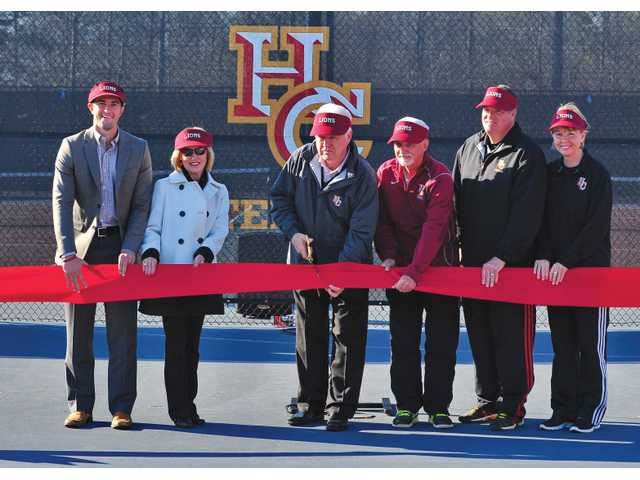 Hebron Christian cuts ribbon on new facilities