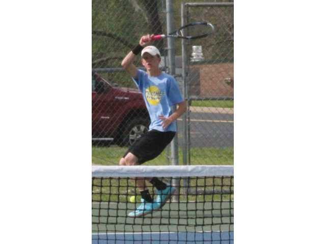 Wildcats finish third in tennis