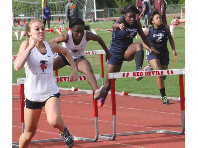 Barrow's best female track stars off to sectionals