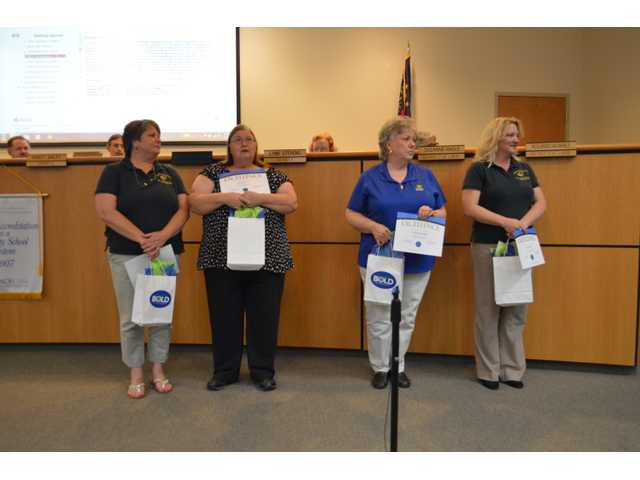 Barrow School System recognizes top classified staff members
