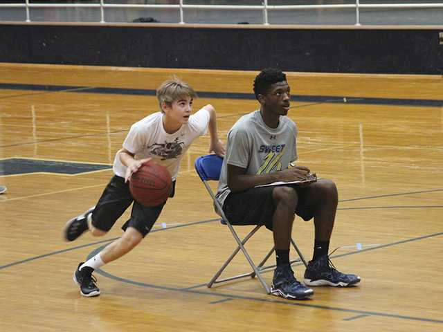 Morris, team host youth camp at Apalachee