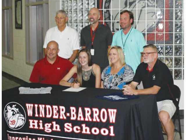 Winder-Barrow's Hayes headed to Georgia Regents