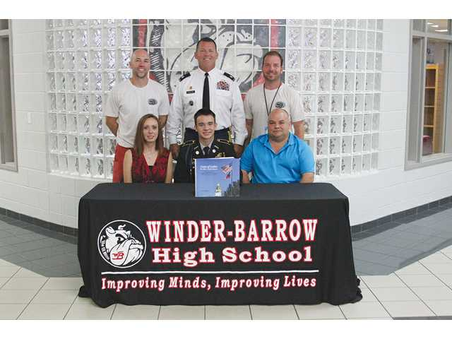 WBHS senior to attend UNG, join corps of cadets