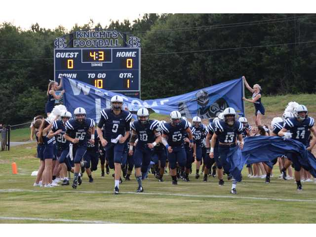 BCA hosts first football game; night ends in loss