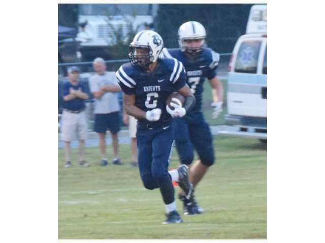 Despite a strong second half, Knights fall to John Milledge Academy hard