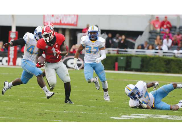 Bulldogs prepare for 'Bama with easy win over Southern University
