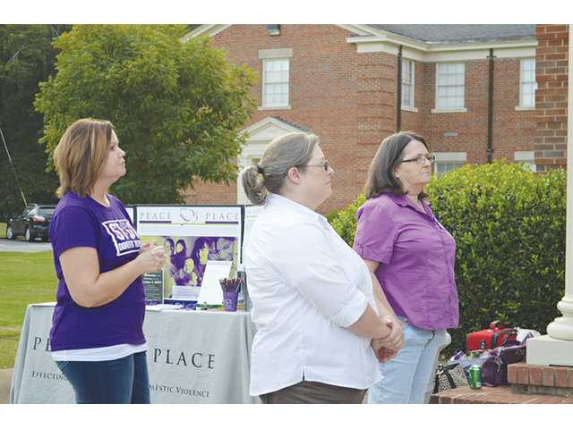 Vigil remembers victims and survivors of domestic violence
