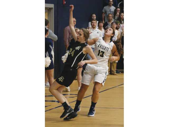 Lady Knights look sharp in program's first 2-0 start