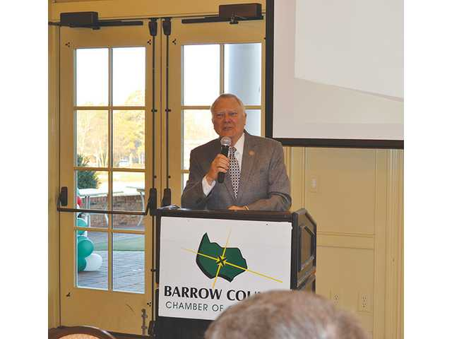 Governor discusses education at annual Chamber breakfast