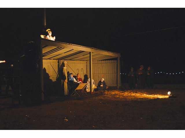 Live nativity held in Bethlehem