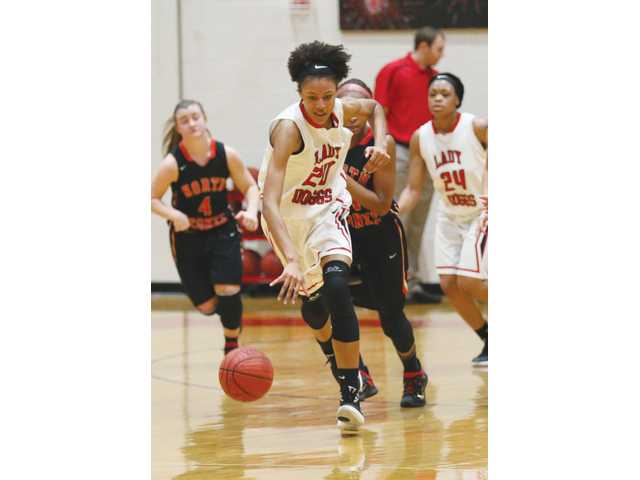 Lady Doggs cruise to 2-0 holiday tourney start