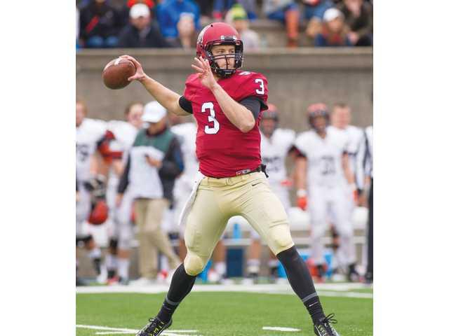 Barrow resident Scott Hosch wins top honors as Harvard quarterback