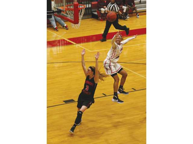 Lady Falcons complete season sweep of Winder-Barrow in dominant performance