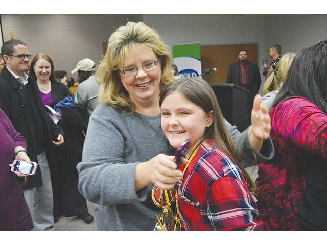 WMS student has the recipe for winning spelling bee