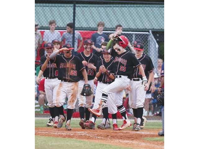 Hanna's grand slam highlights great day at the plate for Diamond Doggs in playoff series sweep