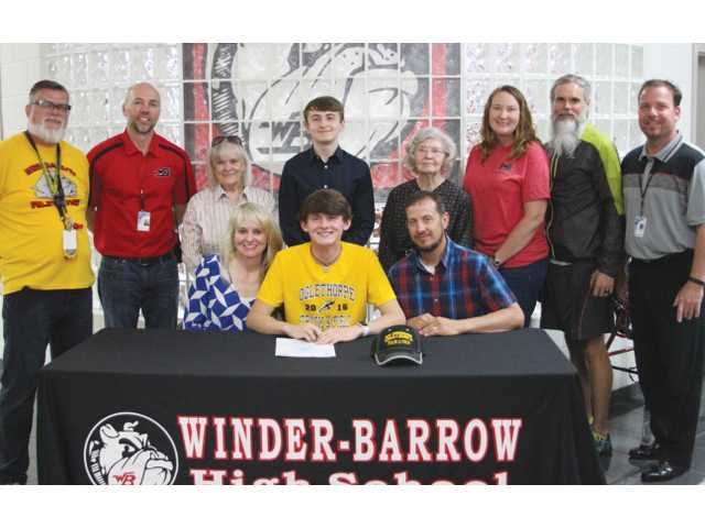 Winder-Barrow's Pursell to compete for Oglethorpe