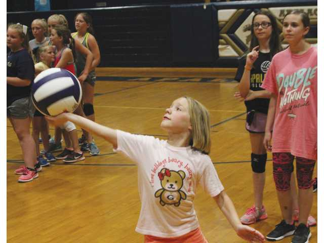 Apalachee volleyball camp teaches girls the fundamentals