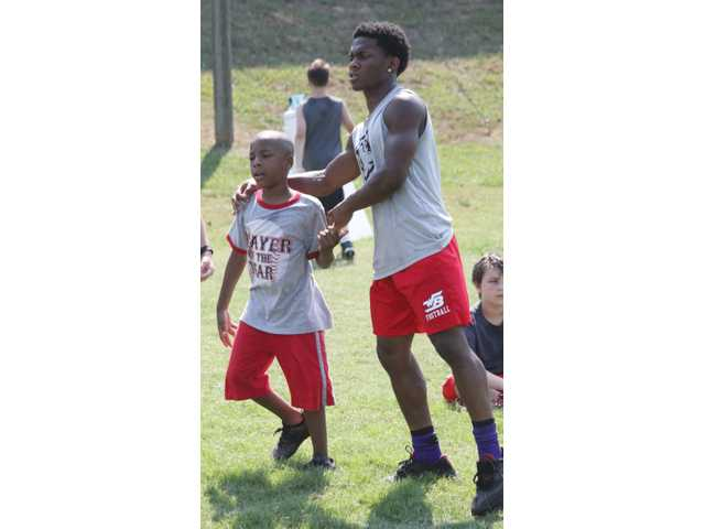 PHOTO GALLERY: Future Bulldogg Camp sees young men try their hands at football