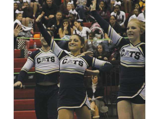 Nine Apalachee cheerleaders honored as All-Americans