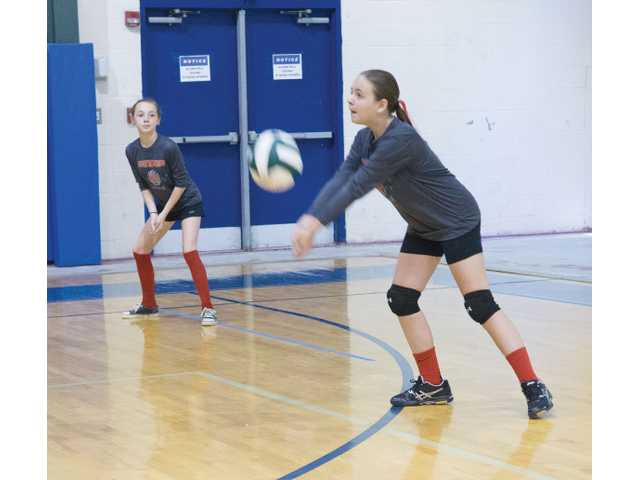 Winder youth volleyball introduces young women to the sport