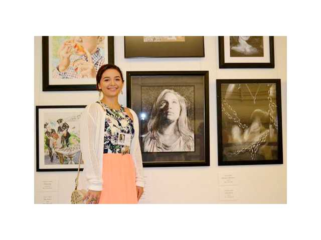 Barrow resident Robinson wins congressional art competition