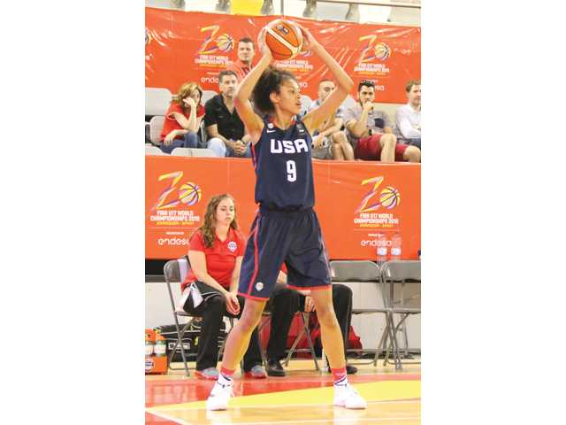 Lady Dogg Olivia Nelson-Ododa leads U17 Team USA in Spain