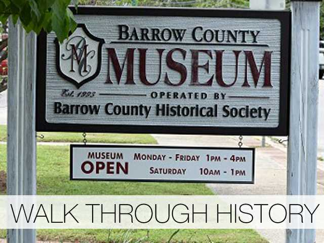 The Barrow County Museum in Winder includes numerous artifacts from city and county history.