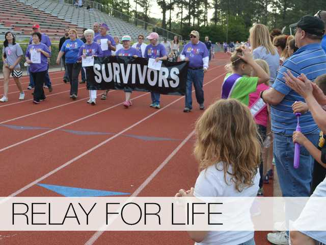 Barrow's annual Relay for Life kicked off Friday night and ended Saturday morning at Winder-Barrow High, and included more than 120 survivors and hundreds of supporters.