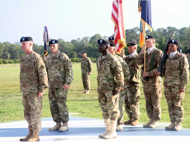 Fort Stewart-based 'Raiders' brigade welcomes new command team