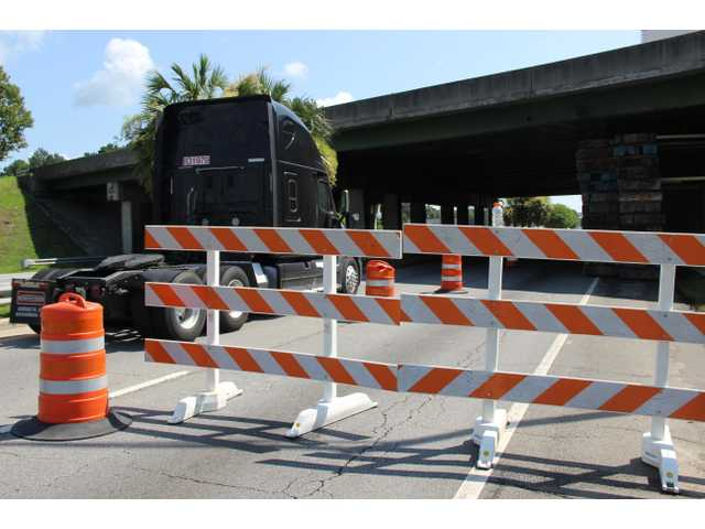 Lanes to be closed this week for start of overpass repairs
