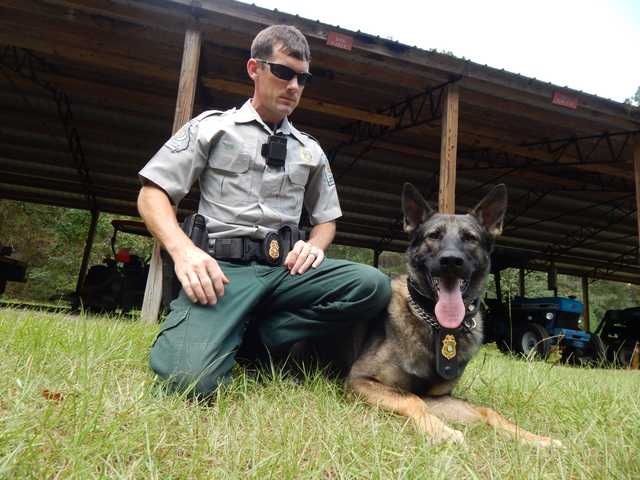 Local DNR's first K-9 sniffs out new role (with VIDEO)