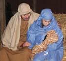 Popular nativity trek on